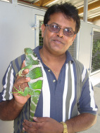 Monuriki Iguana and Ramesh